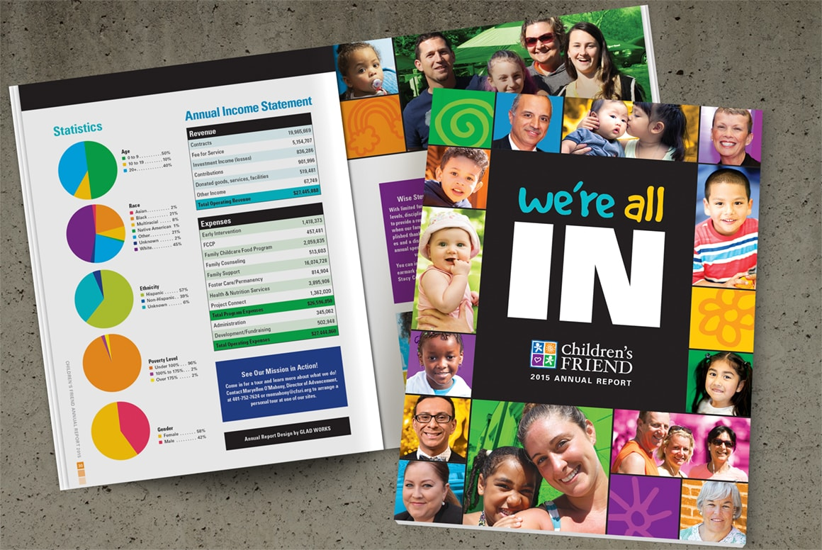 Children's Friend - Annual Report Design