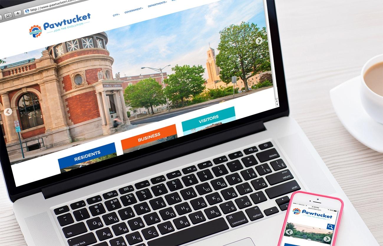 City of Pawtucket - Drupal Web Design and Web Development