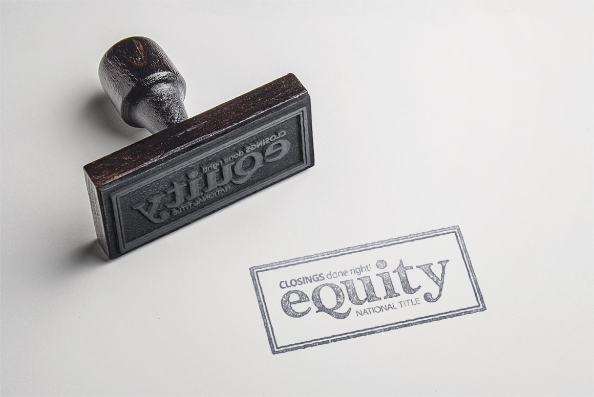 Equity National Title - Stamp Design