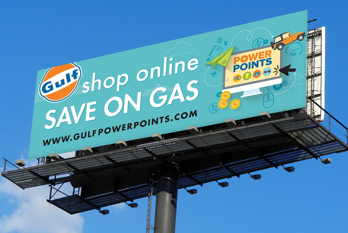 Gulf Oil - Outdoor Advertising