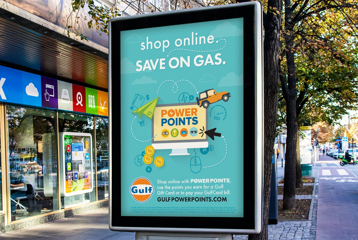 Gulf Oil - Billboard