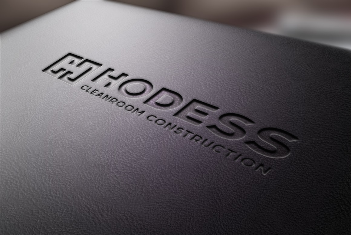 Hodess Cleanroom Construction - Logo Design