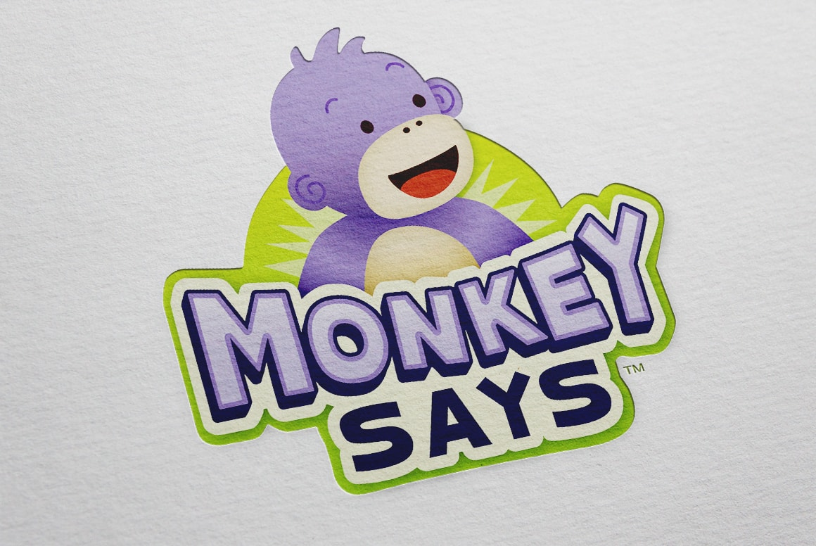Monkey Says - Logo Design