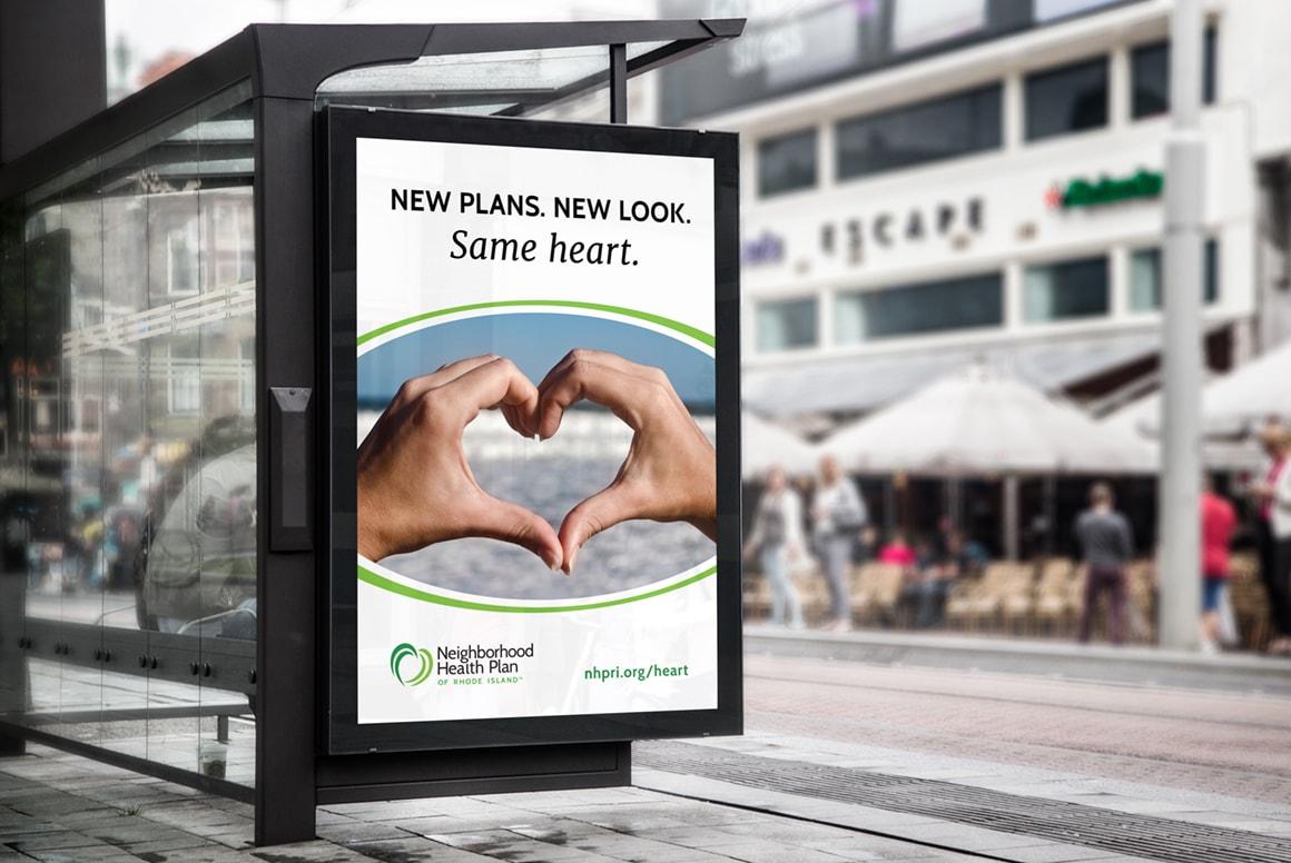 NHPRI - Bus Shelter Ad