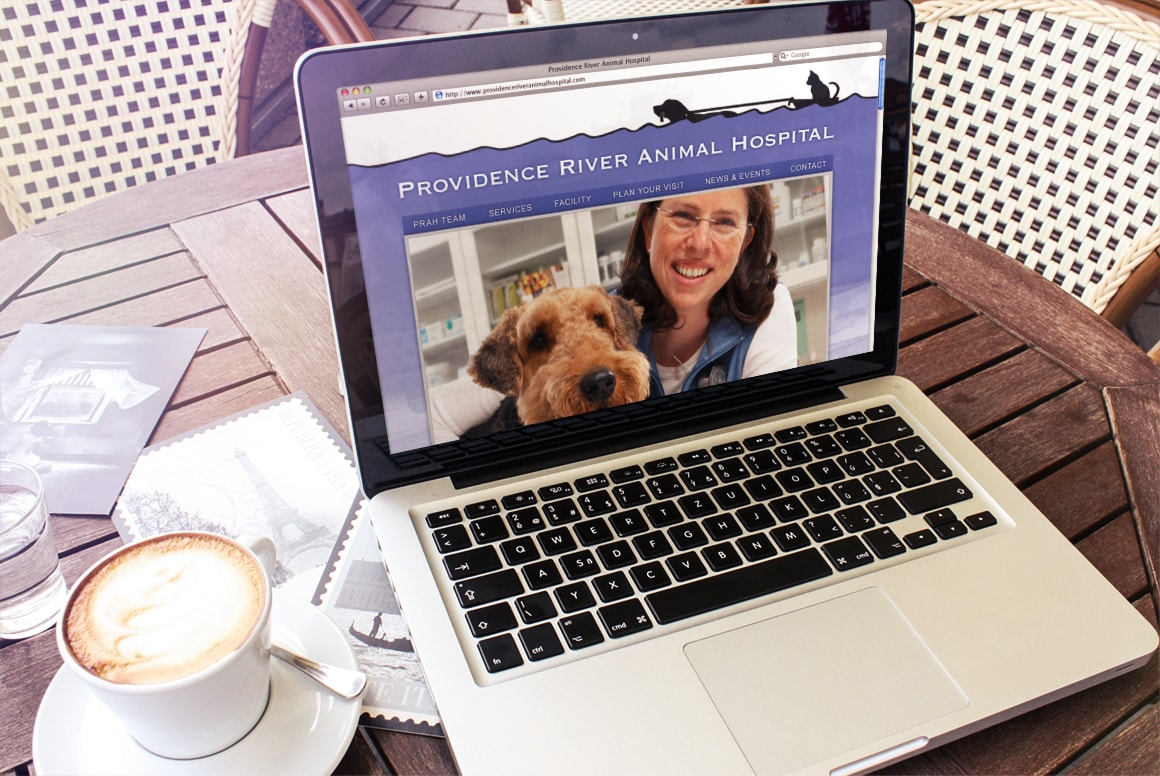 Providence River Animal Hospital - Website Design and Drupal Web Development