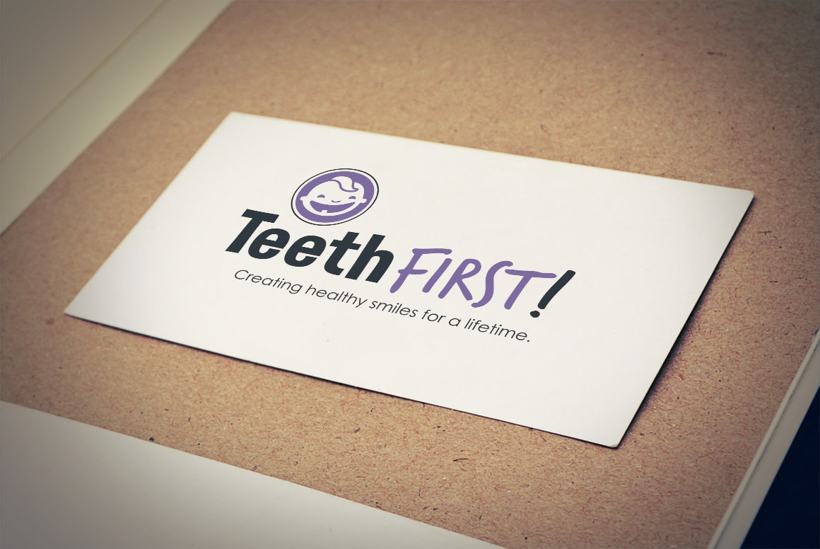 TeethFirst! - Logo Design