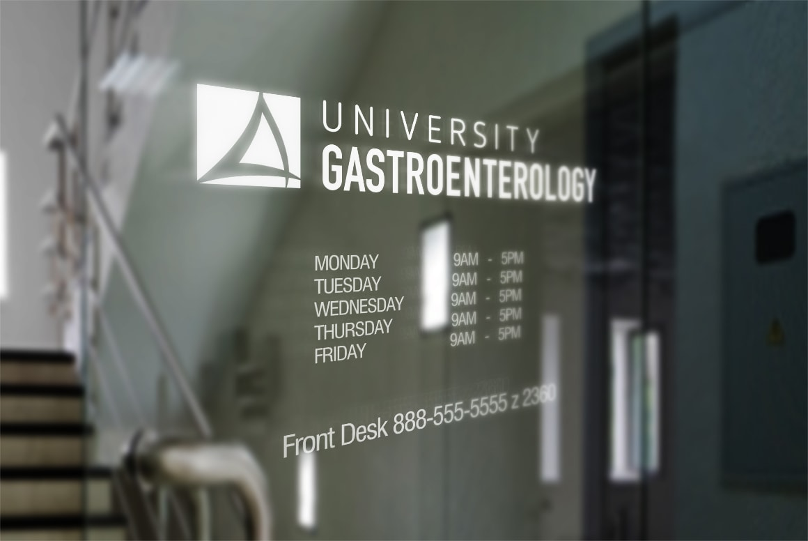 University Gastroenterology - Logo Design