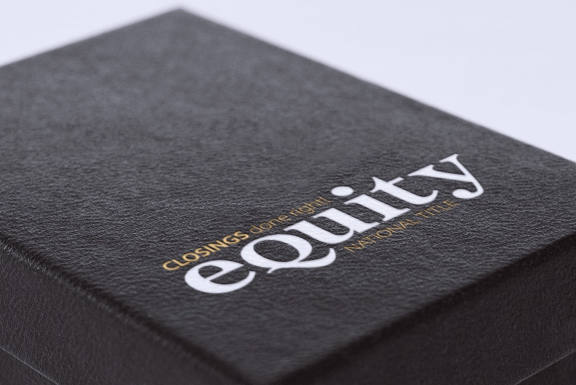 Equity National Title - Branding