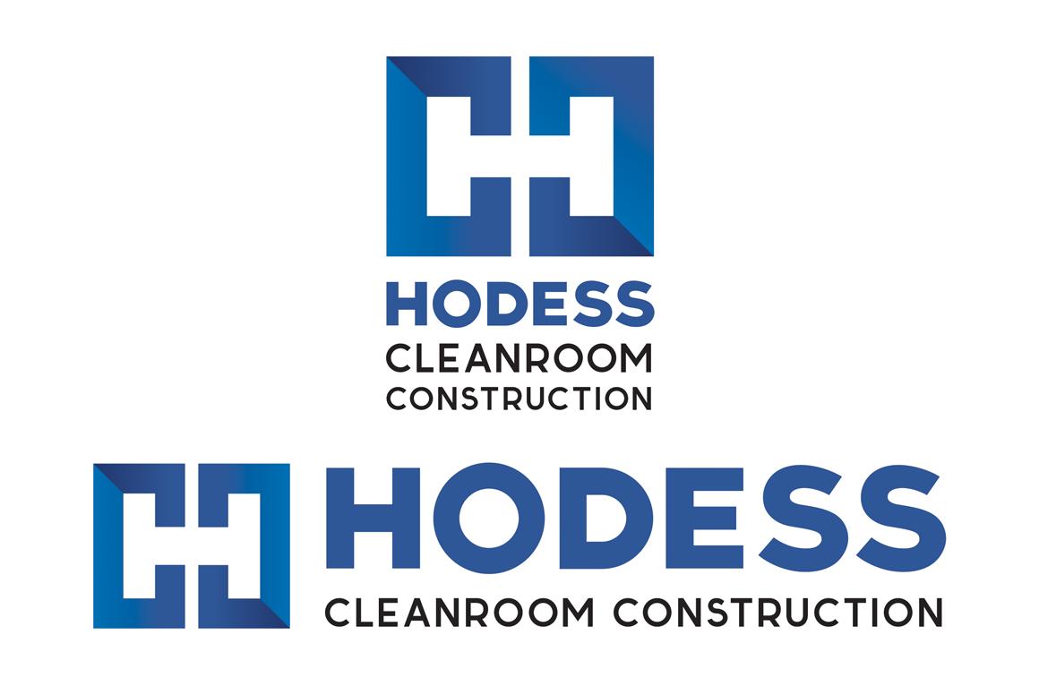 Hodess Cleanroom Construction - Logo Design