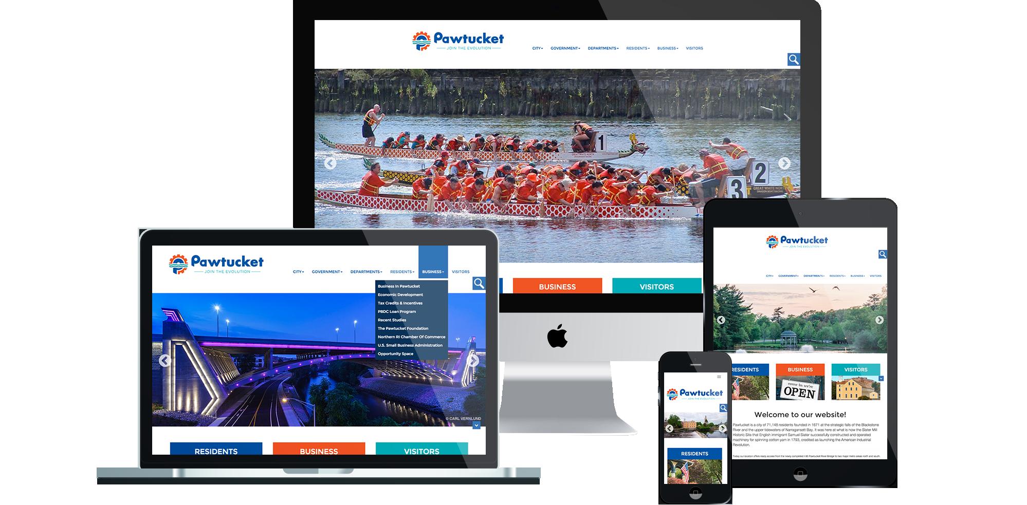 Pawtucket Rhode Island - Responsive Website Development