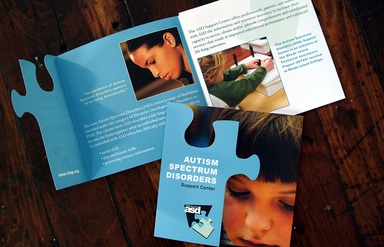 Autism Spectrum Disorders Support Center - Brochure Design