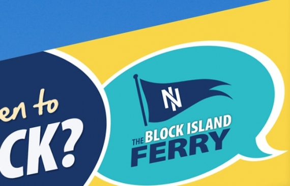 Block Island Ferry - Outdoor Advertising