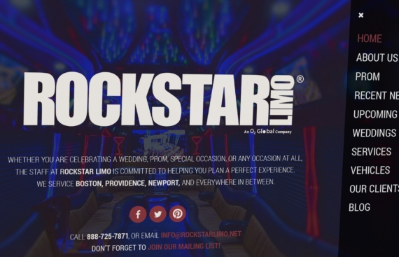 Rockstar Limo - Wordpress Web Design and Development