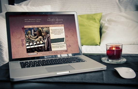The Savory Grape - eCommerce Drupal Web Design and Development